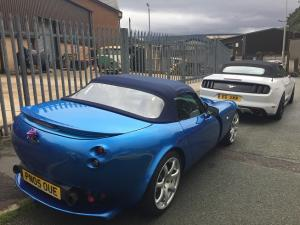 16.TVR at Topless Around The Peak District Charity Run 2018 at MGFnTFBITZ