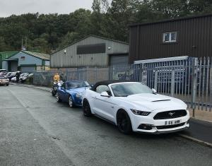 21.Ford Mustang & TVR Topless Around The Peak District Charity Run 2018 at MGFnTFBITZ