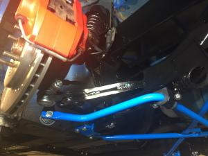 9a. new MG TF Soft Ride Kit fitted to Mrs B MG TF Renovation at MGFnTFBITZ Glossop