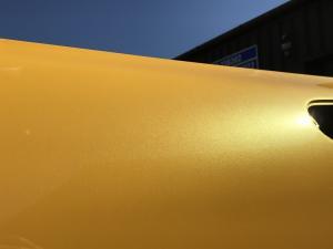 54 MG TF No.1 Sunspot monogram glistening in the sun at MGFnTFBITZ Glossop after full respray