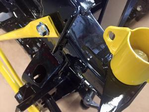 70 MG TF Powder coated subframe mounts & cross brace suspension parts from MGFnTFBITZ