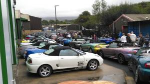 108 Topless Around The Peak District 2019 MGF MG TF LE500 MGFnTFBITZ