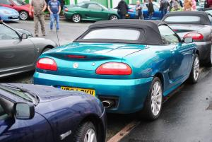 119 Topless Around The Peak District 2019 MGF MG TF LE500 MGFnTFBITZ