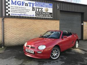 22.MGF Freestyle Little Red outside MGFnTFBITZ all ready for the lucky winner