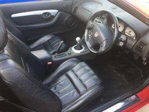 5.interior looking lovely MGF Freestyle Little Red fundraiser for  UK Homes 4 Heros at MGFnTFBITZ