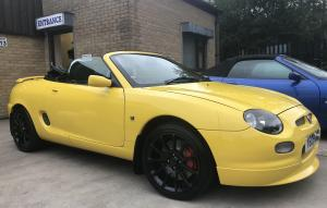 MGF Yellow Trophy 160 Subframe Renovations finished & ready to go at MGFnTFBITZ 1