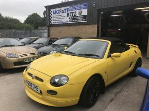 MGF Yellow Trophy 160 Subframe Renovations finished & ready to go at MGFnTFBITZ 5