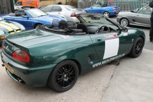MGF track car sponsored by MGFnTFBITZ