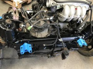 MG TF Nocturne 160 Rear Subframe Renovation at MGFnTFBITZ rear subframe ready to fit
