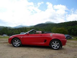 Marks MK1 MGF in Flame Red in Ontario CanadaMGFnTFBITZ Customers Cars Gallery