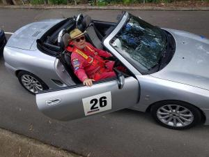 Peter in his MG TF 160, Queensland Australia MGFnTFBITZ Customers Cars Gallery