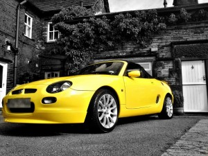 Stuart's Yellow MGF Trophy 160MGFnTFBITZ Customer Cars Gallery