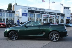 MGF outside ACE Cafe LondonMGFnTFBITZ Customer Cars Gallery